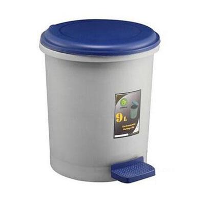 脚踏式塑料垃圾桶,10L