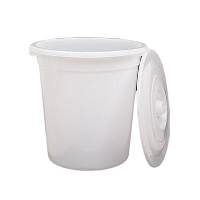 垃圾桶,白色带盖,415mm*505mm