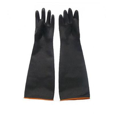 耐酸碱手套,60cm,橡胶
