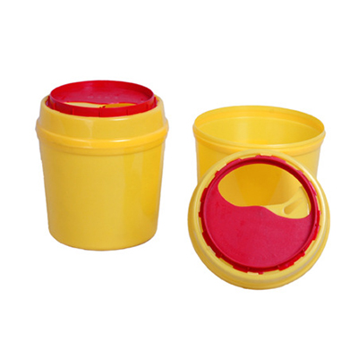 塑料锐器盒,2L,13.5*14.5cm