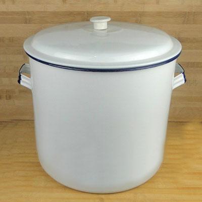 西域推荐 搪瓷碱缸,40cm