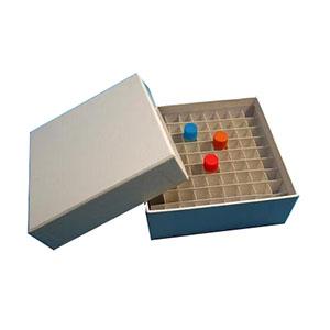 冻存管盒,纸质,81孔