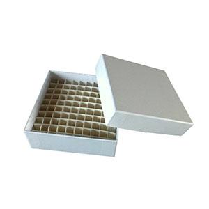 冻存管盒,纸质,100孔