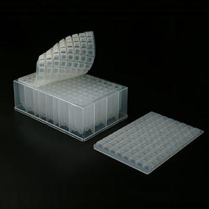 深孔板,1.6ml,U型底,带盖,已消毒,1块/包,50块/箱