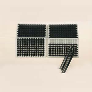 发光板,48孔,可拆,白色,配12孔条,20块/盒,400块/箱