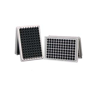 发光板,96孔,可拆,黑色,配12孔条,10块/盒,200块/箱