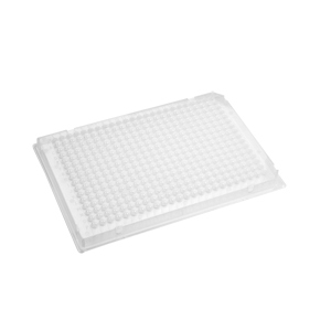 AXYGEN透明PCR板,384孔,无裙边,10块/包