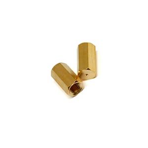 用于瓦里安/布鲁克的安捷伦柱螺帽,黄铜,2/包;类似于 Bruker 394955100