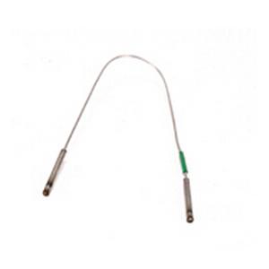 不銹鋼毛細管,0.17 mm 內徑,150 mm,無接頭