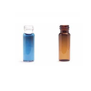 螺口样品瓶,带填充刻度和瓶盖的 4 mL 清洗瓶(无隔垫),25/包。样品瓶规格:15 × 45 mm(13-425 瓶盖)