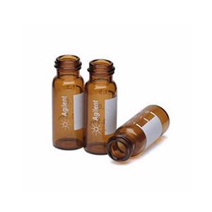 样品瓶套件,螺口,预组装,棕色样品瓶,绿色瓶盖,经认证,PTFE/硅橡胶隔垫,2 mL,100/包。样品瓶规格:12 × 32 mm(12 mm 瓶盖)