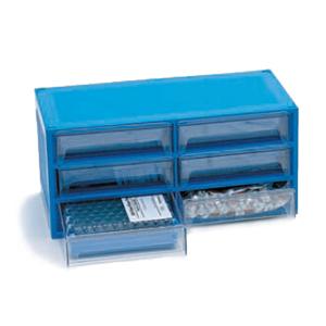 样品瓶便携式套装,螺口,透明样品瓶,带书写标签,蓝色瓶盖,经认证,PTFE/硅橡胶隔垫,500/包。样品瓶规格:12 × 32 mm(12 mm 瓶盖)