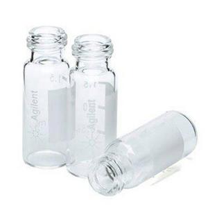 样品瓶,螺口,透明,带书写签,经认证,2 mL,1000/包。样品瓶规格:12 × 32 mm(12 mm 瓶盖)