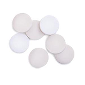 硅橡胶隔垫,棕色 PTFE/白色硅橡胶,20 mm,100/包。隔垫尺寸:20 mm(用于 20 mm 瓶盖)