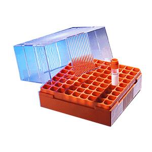 冻存储存盒,100孔,可放1-2ml冻存管,未灭菌,大包装,5个/包