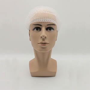 无纺布条形帽,白色,20英寸,M码,1000个/箱