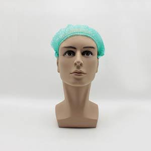 无纺布条形帽,绿色,20英寸,M码,1000个/箱