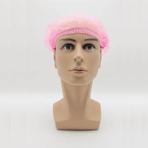 无纺布条形帽,粉色,20英寸,M码,100个/包