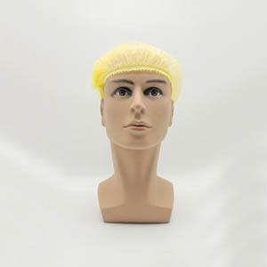 无纺布条形帽,黄色,20英寸,M码,1000个/箱