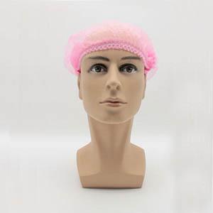无纺布条形帽,粉色,21英寸,L码,1000个/箱