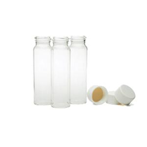 23*95样品瓶 , 透明 , 带衬有24-400的实心储存盖 ,40ml, 100/包