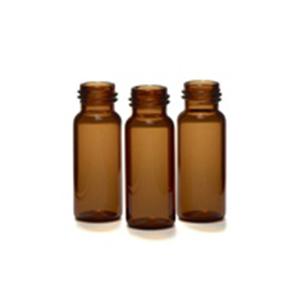 2ml广口螺纹盖样品瓶,琥珀色,100/包
