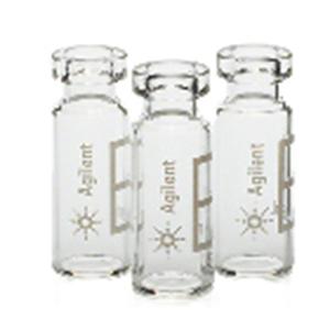 安捷伦 透明,广口钳口/卡口样品瓶,2 mL 100/包