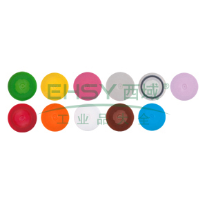 AXYGEN带环螺旋冻存管盖,桔色,500个/包