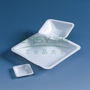 BRAND称量盘,PS材质,方形,100ml,84*84*24mm,500个/箱
