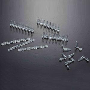 PCR管,8连管,0.2ml,平盖,无DNA,RNA酶,125条/包,1250条/箱