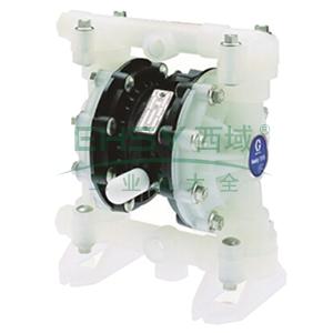 """固瑞克/GRACO D52966 1/2""""金属壳体气动隔膜泵"""