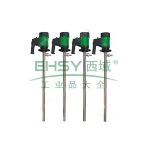 标博/biaobo HD-SS316 不锈钢316L电动插桶泵,调速普通电机