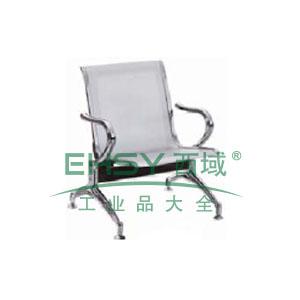 金属等候椅,单人位680*680*880(散件不含安装)