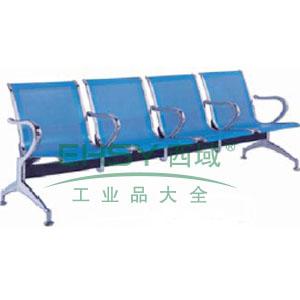 金属等候椅,4人位2500*680*880(散件不含安装)