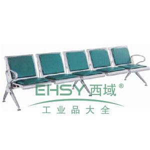 金属等候椅,5人位2890*680*880(散件不含安装)