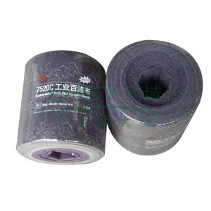 3M工业百洁布 7520C,100*200mm,60片/卷