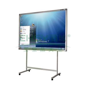 普乐士互动白板,IWB-800 外形尺寸高1259mm×宽1859mm×厚41mm(对角88英寸)