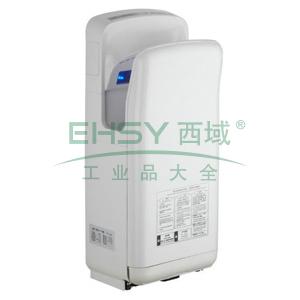 白色双面喷气式干手器 (自动加热)