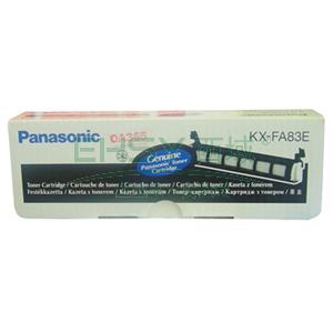 松下碳粉, KX-FAC283ECN 黑色(适用KX-FL513/543/613/653/663/668/678,2500页,5%覆盖率)