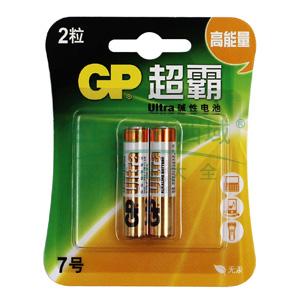 超霸7号电池,碱性 AAA