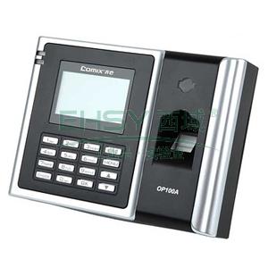 齐心指纹机, 直接输出报表型,黑  OP100A