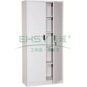 凭证柜,900宽*390深*1850高,灰白色,钢板厚度为0.8mm