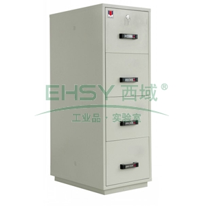 防火防磁文件柜,防火兩小時,4節柜,四個紙張抽屜,僅限上海