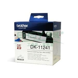 兄弟DK色带,102*152mm白底/黑字(纸质200张)