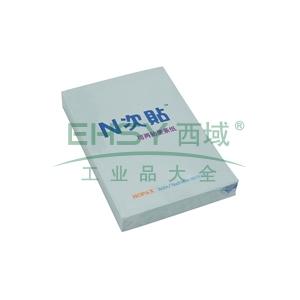 N次貼 可再貼自粘便條紙,31003 76*51mm (藍色) 單本
