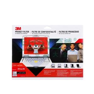 3M 电脑光学防窥片 PF14.1W 14寸宽屏 16:10