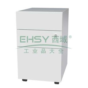 LOM03活动柜,395长*508宽*652高,乳白色,0.7mm厚度