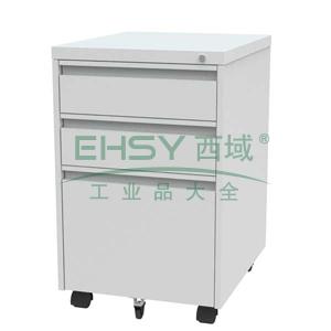 EU-703C活动柜,395长*500宽*635高,乳白色,0.7mm厚度