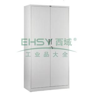 开门柜,900宽*400深*1850高,灰白色,0.7mm厚度