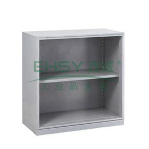 无门矮柜,900宽*400深*933高,灰白色,0.7mm厚度